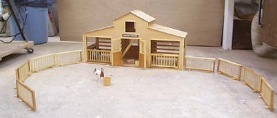 Toy Horse Stable - DIY Woodworking Projects