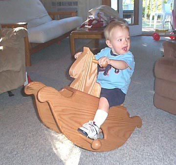 Rocking Horse woodworking plan