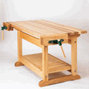 Work bench woodworking plan